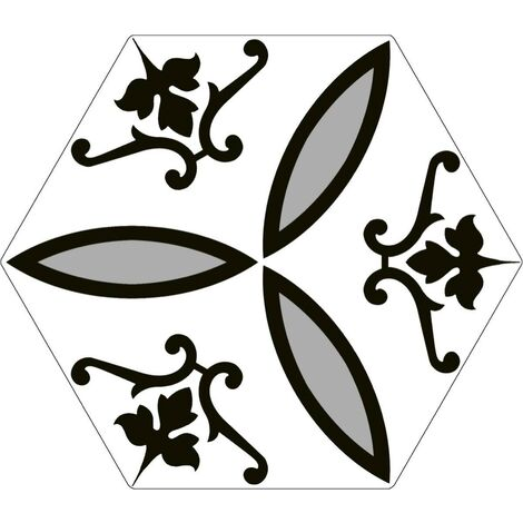 Série Hexagonal Britain Windsor 20x24 (carton de 0,98 m2)