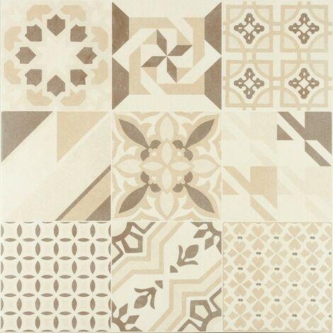 Série Hidra Neutral beige RECTIFIÉ 60x60 (carton de 1,44 m2)