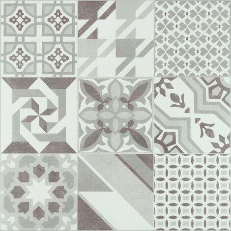 Série Hidra Neutral gris RECTIFIÉ 60x60 (carton de 1,44 m2)