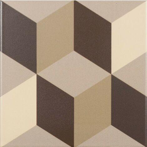 Série Lahore coffee 15x15 (carton de 0,50 m2)
