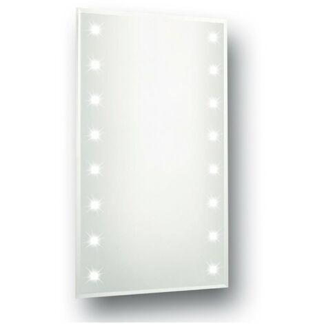 Series 1 Luna Strip LED Mirror 450mm x 600mm