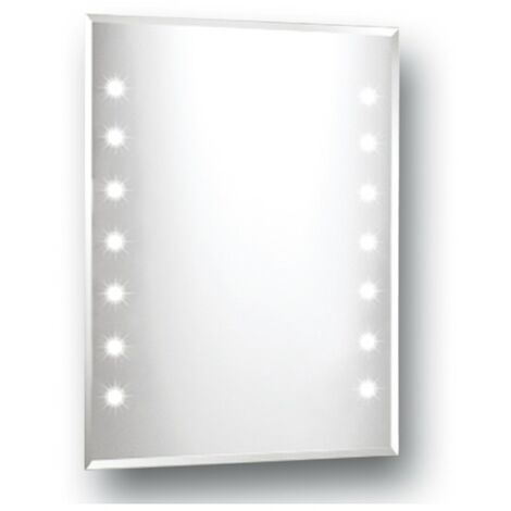 Series 1 Luna Strip LED Mirror 600mm x 800mm