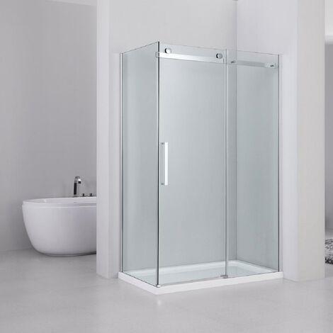 Series 10 Roller 1400mm x 700mm Sliding Door Shower Enclosure