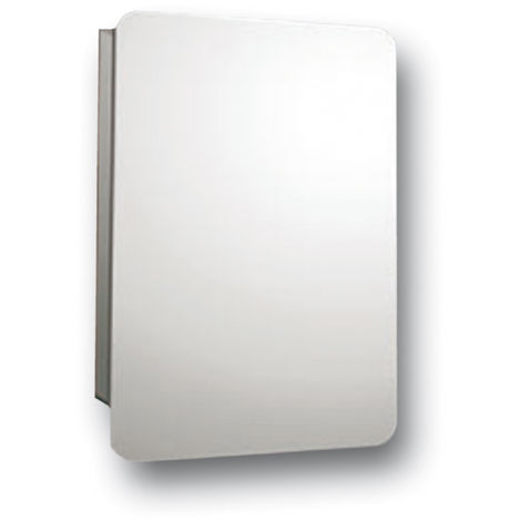 Series 4 Reflex Compact Hinge Mirror Cabinet 460mm x 660mm x 120mm