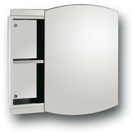 Series 4 Reflex Cubarc Slider Mirror Cabinet 500mm x 700mm x 110mm