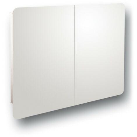 Series 4 Reflex Duo Hinge Mirror Cabinet 800mm x 600mm x 120mm
