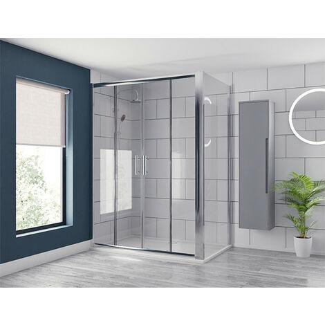 Series 6 1500mm x 700mm Double Sliding Door Shower Enclosure