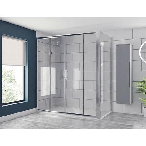 Series 6 1700mm x 760mm Double Sliding Door Shower Enclosure