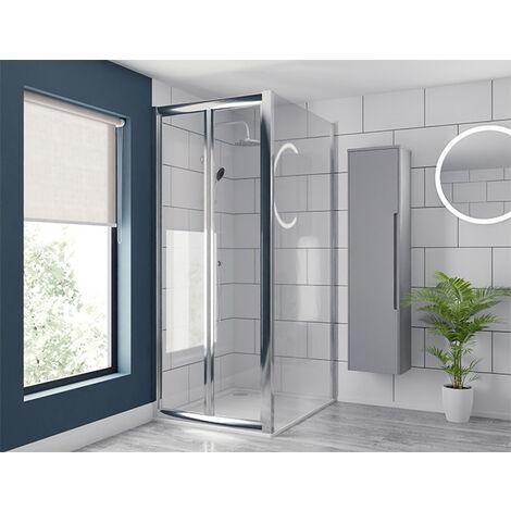 Series 6 760mm x 1000mm Bi Fold Door Shower Enclosure