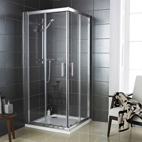 Series 8 Corner Entry Shower Enclosure 900 x 900