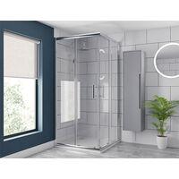 Series 8 Corner Entry Shower Enclosure 900 x 900