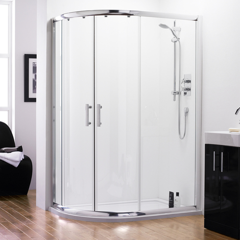 Series 8 Quadrant Offset Shower Enclosure 1200 x 800