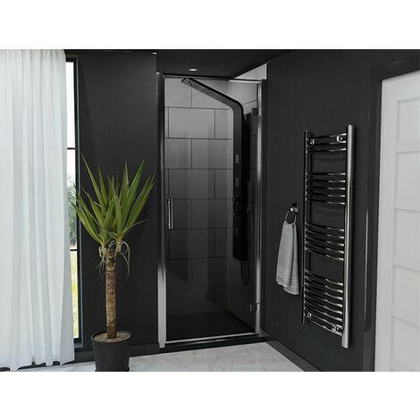 Series 9 Tinted Hinged Shower Door 900mm