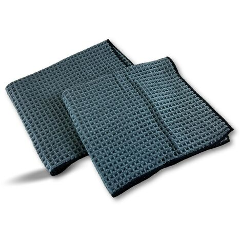 Serpillères en microfibres | Lavantes et dégraissantes | Super absorbantes - Lot de 10 - Set 2 serpillères