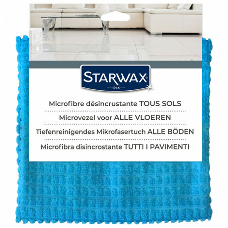 Serpillière microfibre désincrustante Starwax