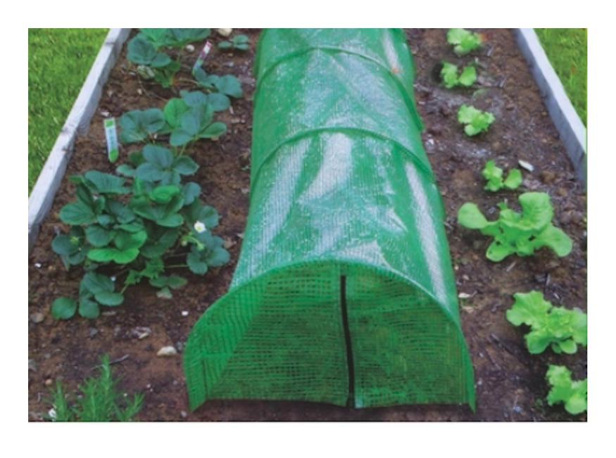 Serra orto tunnel polietilene cm 300 x 45 x 30 h mini serra giardino
