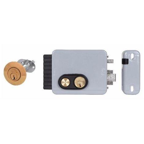 Serratura elettrica da applicare SX C//K e pulsante