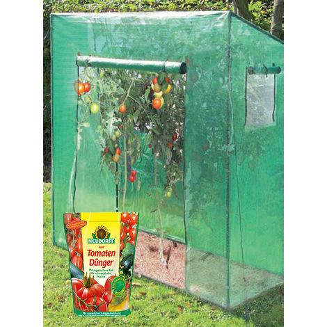 Serre à légumes - 200 x 167 x 77 cm + engrais pour tomates 750g