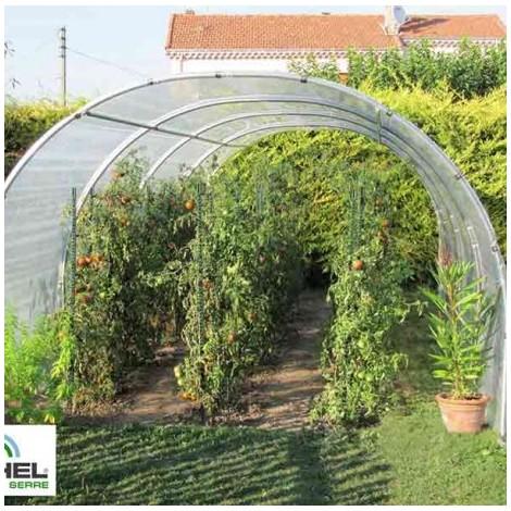 Serre à tomates 24m² - 3 m x 8 m - sans façade