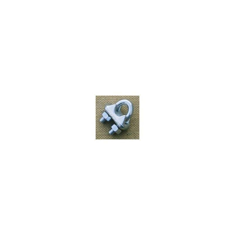 Serre-câble à étrier - Diamètre câble : 18mm