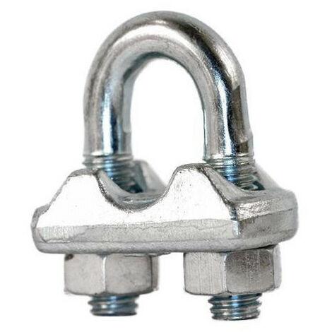 Audacieuse Serre-câble à étrier acier zingué (3) - Ø mm : 3 - 605200 PT-83
