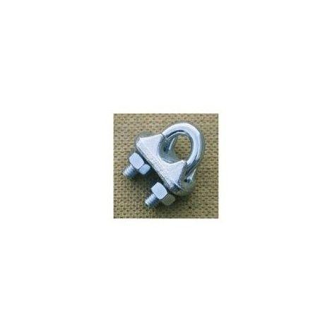 Serre-câble à étrier - Diamètre câble : 6mm
