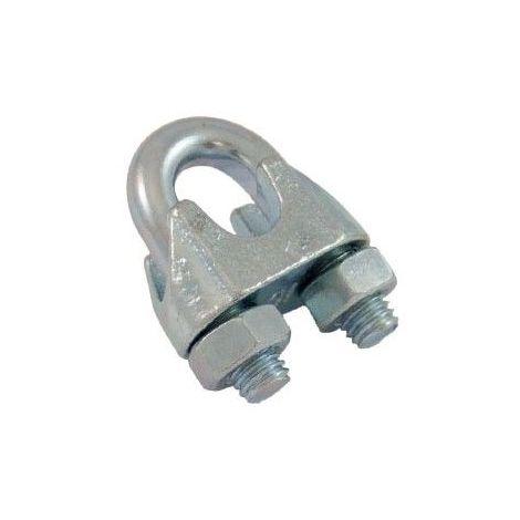 Serre-câble à étrier quincaillerie - Diamètre câble : 5mm