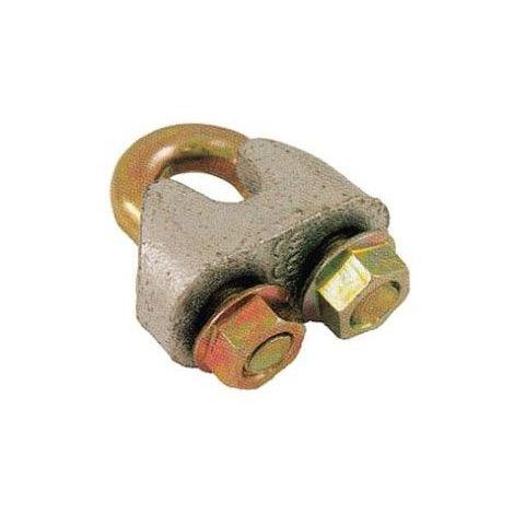 Serre-câble à étrier solide - Diamètre câble : 16mm