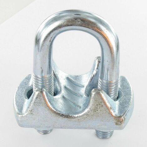 SERRE CABLE ETRIER ZINGUE POUR CABLE 50 | Conditionnement: Unitaire