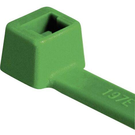 Serre-câble HellermannTyton T30R-PA66-GN 111-03014 150 mm 3.50 mm vert 100 pc(s)