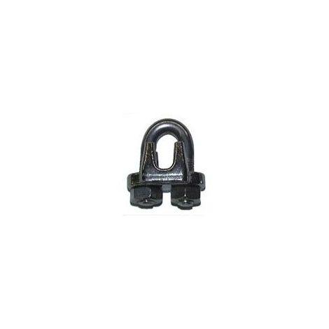 Serre-câble lourd inox - Diamètre câble : 3mm