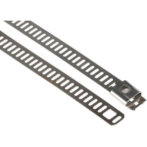 Serre-câble Métallique en Acier Inoxydable 316 RS PRO, 225mm x 7 mm