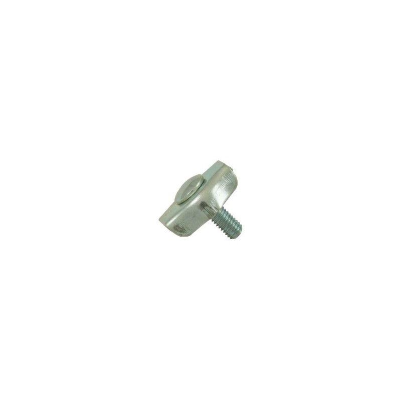 Websilor - Serre-câble plat acier - 1 boulon - Diamètre : 10mm