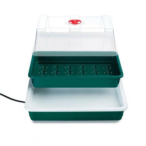 Serre chauffante 10W - 38,5 x 24 x 20 cm - Garland germination-bouturage