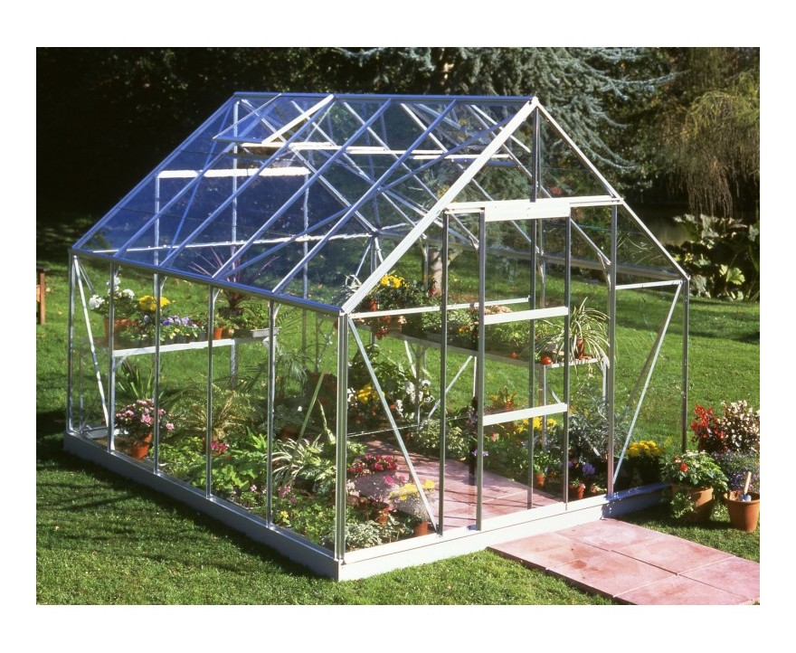 Serre de jardin 8,3m² en verre horticole Universal - Halls