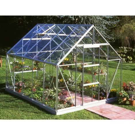 Serre de jardin 8,3m² en verre horticole Universal - Halls - 70878