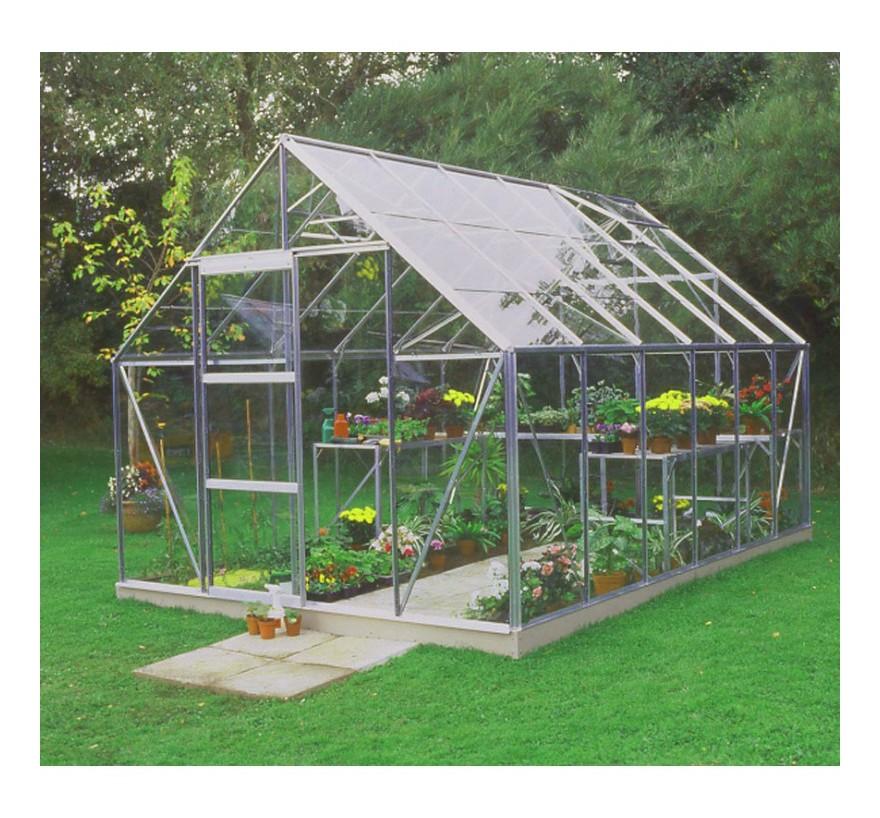Serre de jardin 9,9m² en verre horticole Universal - Halls -