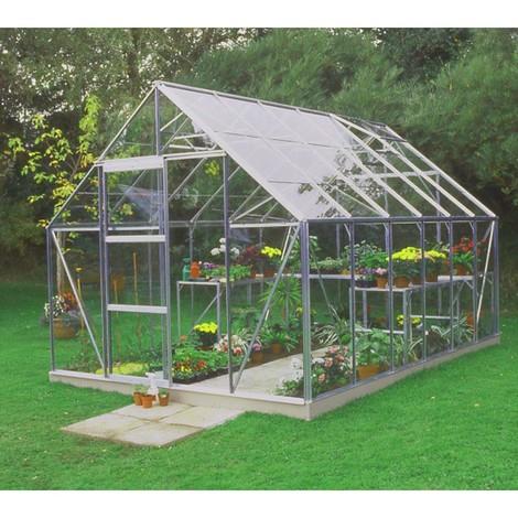 Serre de jardin 9,9m² en verre horticole Universal - Halls