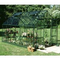 Serre jardin verre à prix mini