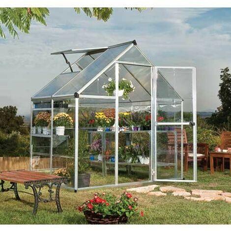 Serre de jardin en polycarbonate Hybrid 2,33 m²