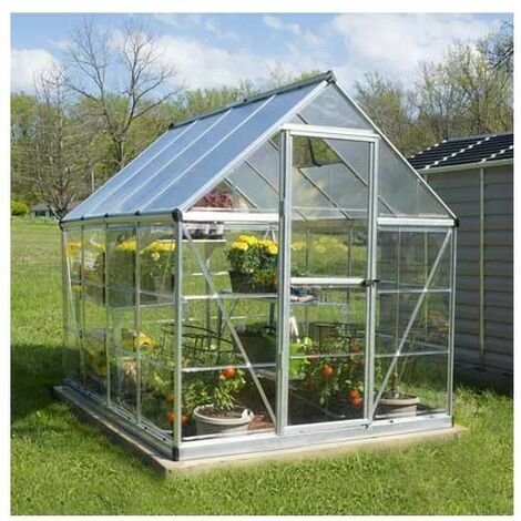 Serre de jardin en polycarbonate Hybrid 4,57 m²