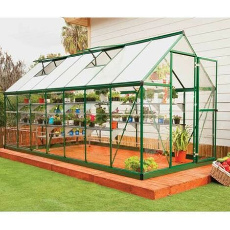 Serre de jardin en polycarbonate Hybrid 7,88 m²