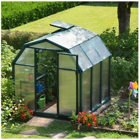 Serre de jardin en polycarbonate Rion Eco Grow 4,10 m²
