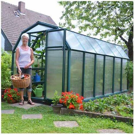 Serre de jardin en polycarbonate Rion Eco Grow 7,90 m²