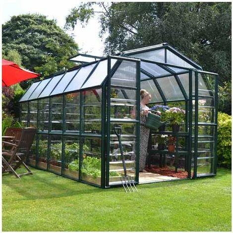 Serre de jardin en polycarbonate Rion Grand Gardener 10,38 m²