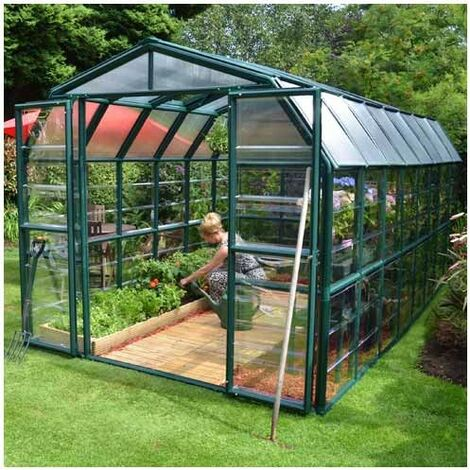 Serre de jardin en polycarbonate Rion Grand Gardener 13,72 m²