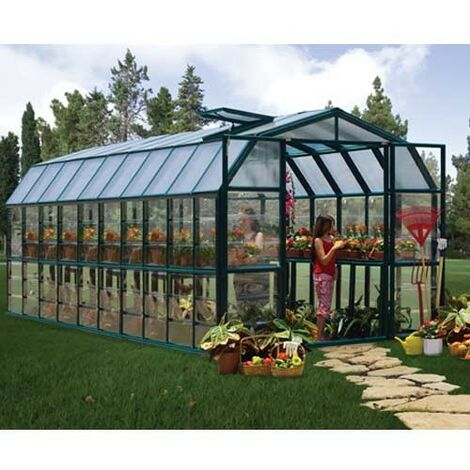 Serre de jardin en polycarbonate Rion Grand Gardener 17,06 m²