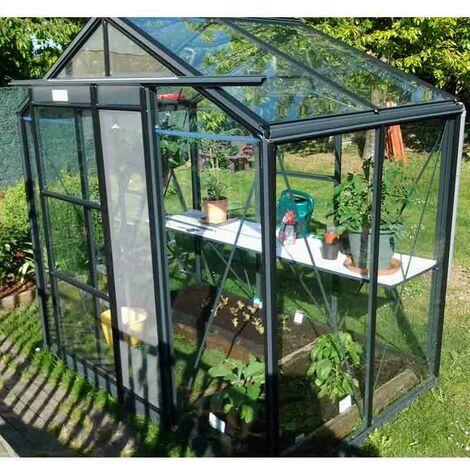 Serre de jardin en verre trempé Royal 22 - 3,50 m²