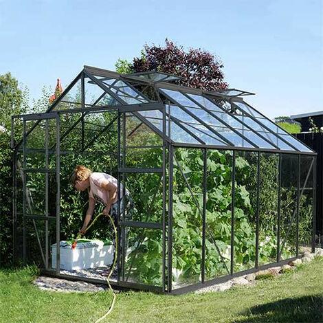 Serre de jardin en verre trempé Uranus
