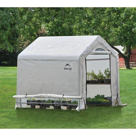 Serre de jardin Shelter Logic 3,24 m² - longueur : 1.80 m